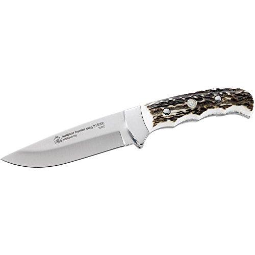 10,6cm Puma IP Outdoor-Messer mit Hirschhorn-Griffschalen