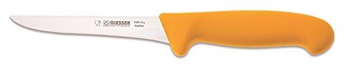 Giesser Messer Ausbeinmesser gelb 13 cm Klingenlänge - Profimesser