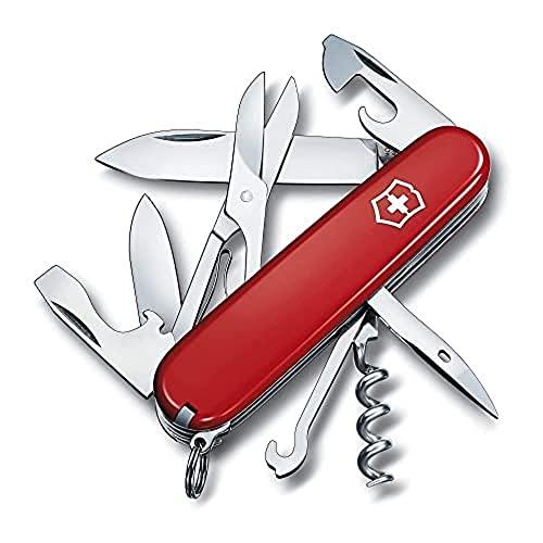 Victorinox Taschenwerkzeug Offiziersmesser Climber rot, 1.3703
