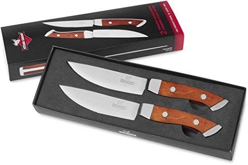 SteakChamp Premium Steakmesser 2er-Set
