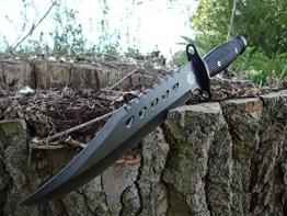 "36cm CANADA Mega Bowie- Jagd- Outdoor- Survival- Messer ""Forrest Ranger"" incl. Dolch Beimesser incl. 12in1 Survival-Card *NEU* - 1"