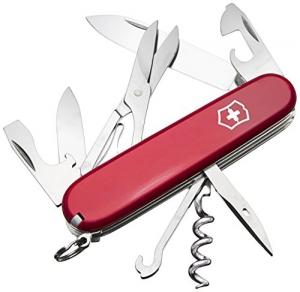 Victorinox Taschenwerkzeug Offiziersmesser Climber rot, 1.3703 - 1