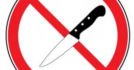 Messer verboten